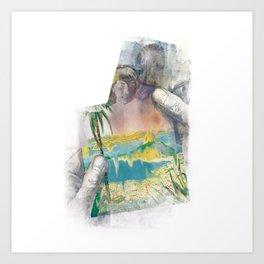 Lettera dal Brasile Art Print
