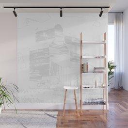Grain Elevator Wall Mural