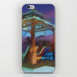 Tropical Nightscape iPhone Skin