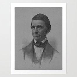 Ralph Waldo Emerson Portrait Art Print