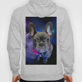 Dog French Bulldog and Galaxy Hoody