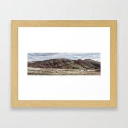 Painted Hills Pano. No. 2 Framed Art Print
