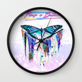To Pimp a Butterfly 1990s Style Wall Clock