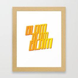 BLAM Framed Art Print