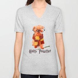 Hairy Pawtter Unisex V-Neck