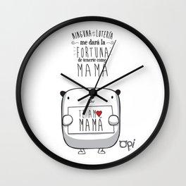 OPI MAMÁ Wall Clock