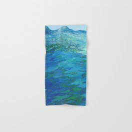 Effervescent Waves 1 Hand & Bath Towel