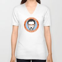house md V-neck T-shirts featuring HOUSE MD: IT'S NOT LUPUS, IT'S BEETS by MDRMDRMDR