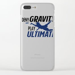 Ultimate T-Shirt I Gift Disc Sport Jersey   Clear iPhone Case