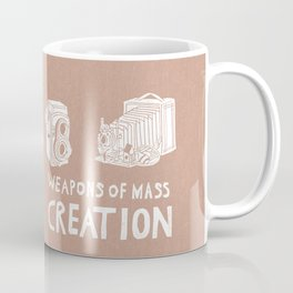 Weapons Of Mass Creation - Photography (white) Coffee Mug
