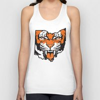 ohio state Tank Tops featuring Ohio Bengal by Griggitees