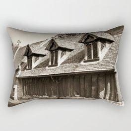 Greensted Church Rectangular Pillow