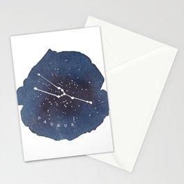 taurus constellation zodiac Stationery Cards