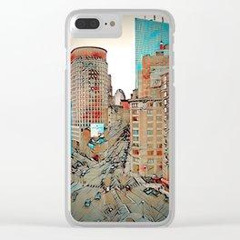 Downtown Boston, Boston, USA Clear iPhone Case