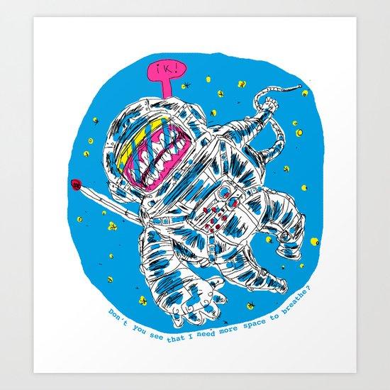 I love you but Art Print