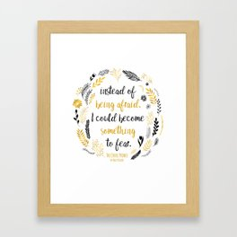 The Cruel Prince Quote Holly Black V2 Framed Art Print