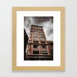 NYC building Framed Art Print