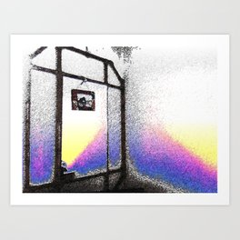 Secret Door Art Print