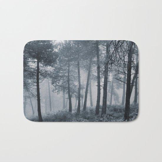 Mistery forest. Retro Bath Mat
