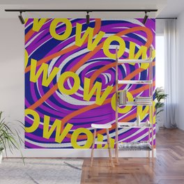 Wowowowowow Wall Mural
