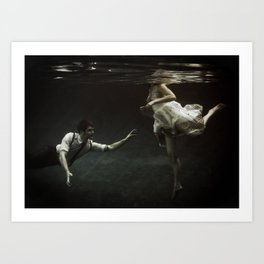 abyss of the disheartened : X Art Print