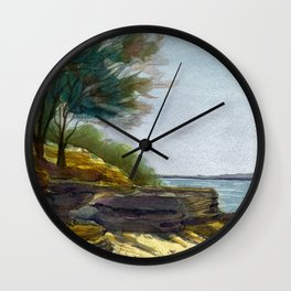 Retreat Wall Clock