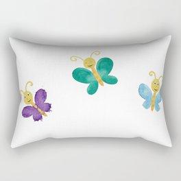 cute butterflies Rectangular Pillow