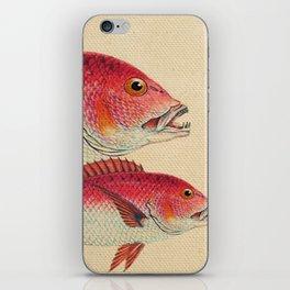 Fish Classic Designs 7 iPhone Skin
