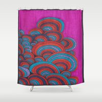 dr seuss Shower Curtains featuring Dr. Seuss 5 by Sarah J Bierman