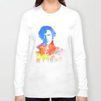 sherlock Long Sleeve T-shirts featuring Sherlock by Fimbis