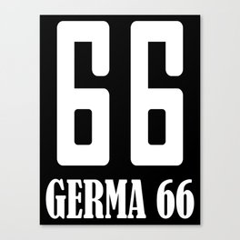 Germa 66 Canvas Print