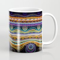 stripe Mugs featuring stripe by Antracit