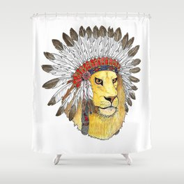 Guardian of your Dreams Shower Curtain