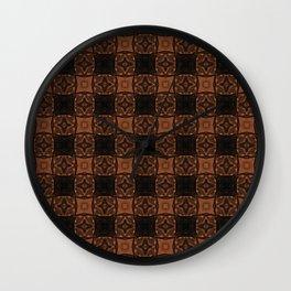 Basket Weave Wall Clock