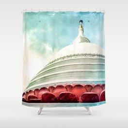 Buddha House Shower Curtain