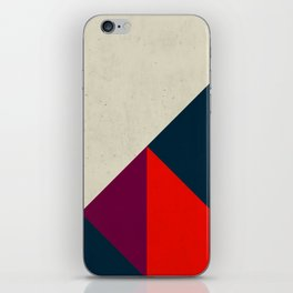 Geometric abstract iPhone Skin