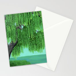 Weeping Willow Stationery Cards