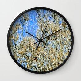 Ice Tree Wall Clock