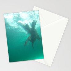Flip & Swim Stationery Cards