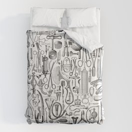 Medical Condition B&W Comforters