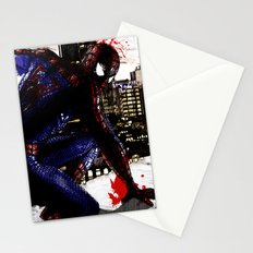 Spiderman in London Close up Stationery Cards