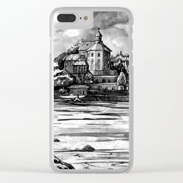 House across the river Clear iPhone Case