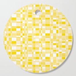 Mod Gingham - Yellow Cutting Board