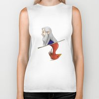 dumbledore Biker Tanks featuring Albus Dumbledore by Imaginative Ink