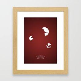 S....... .....S Framed Art Print