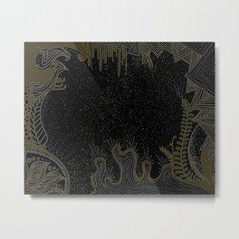 GALAXY GARDEN .01 Metal Print