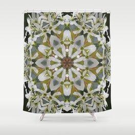 Lacy Serviceberry kaleidoscope - Amelanchier 0033 k5 Shower Curtain