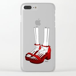 The Long Way Home Clear iPhone Case