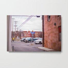 Harrisburg Sidestreet Metal Print