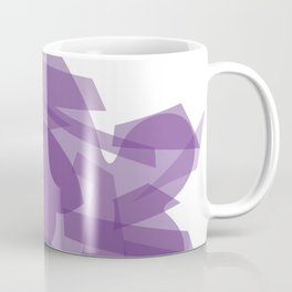 The Purple Fish Coffee Mug